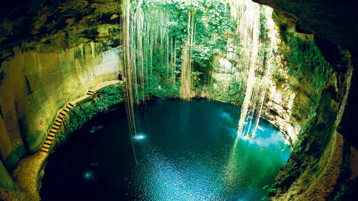 Cenotes para bucear en Quintana Roo