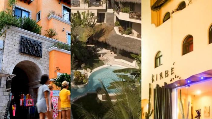 Hotel Lunata La Tortuga o en el Kinbe