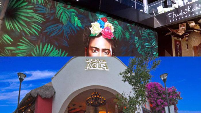 La casa del agua y el Bar Fridas