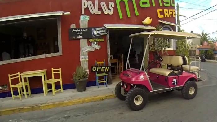 Alquiler de carritos de golf en Isla Mujeres