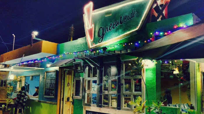 Greenverde Restaurant Isla Mujeres