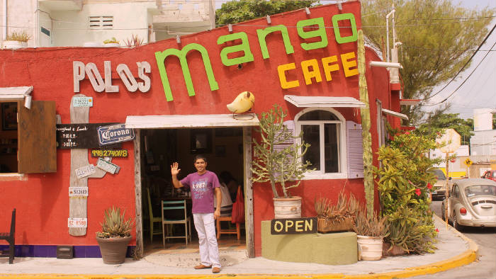 Mango Café Restaurant Isla Mujeres