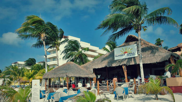 Sunset Grill Restaurant Isla Mujeres