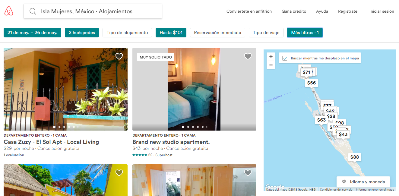 Airbnb Isla Mujeres