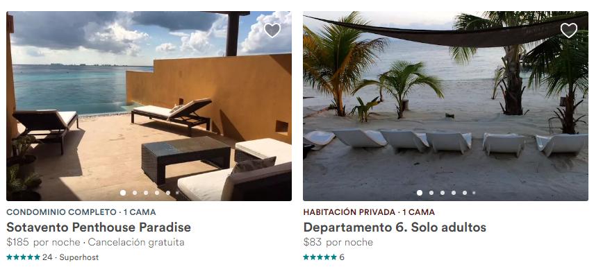 Alquiler lujoso en Isla Mujeres