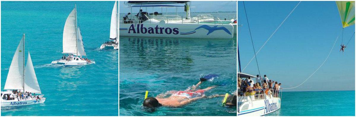 Cancún Adventure Catamaran a Isla Mujeres