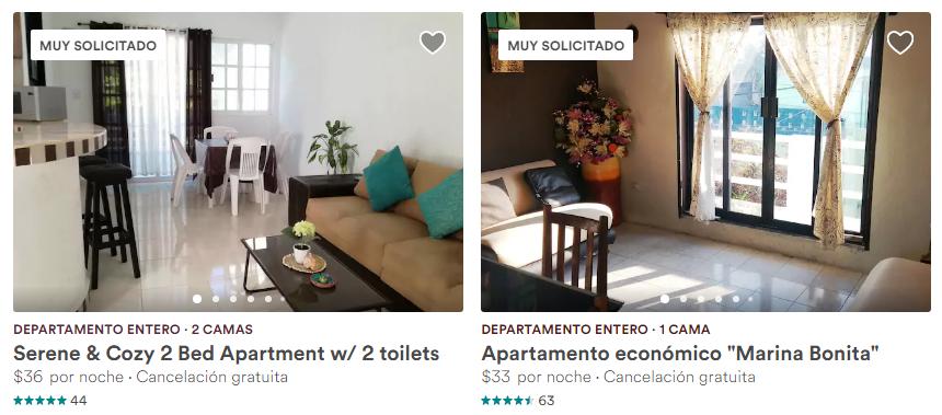 Departamentos en Isla Mujeres Airbnb baratos