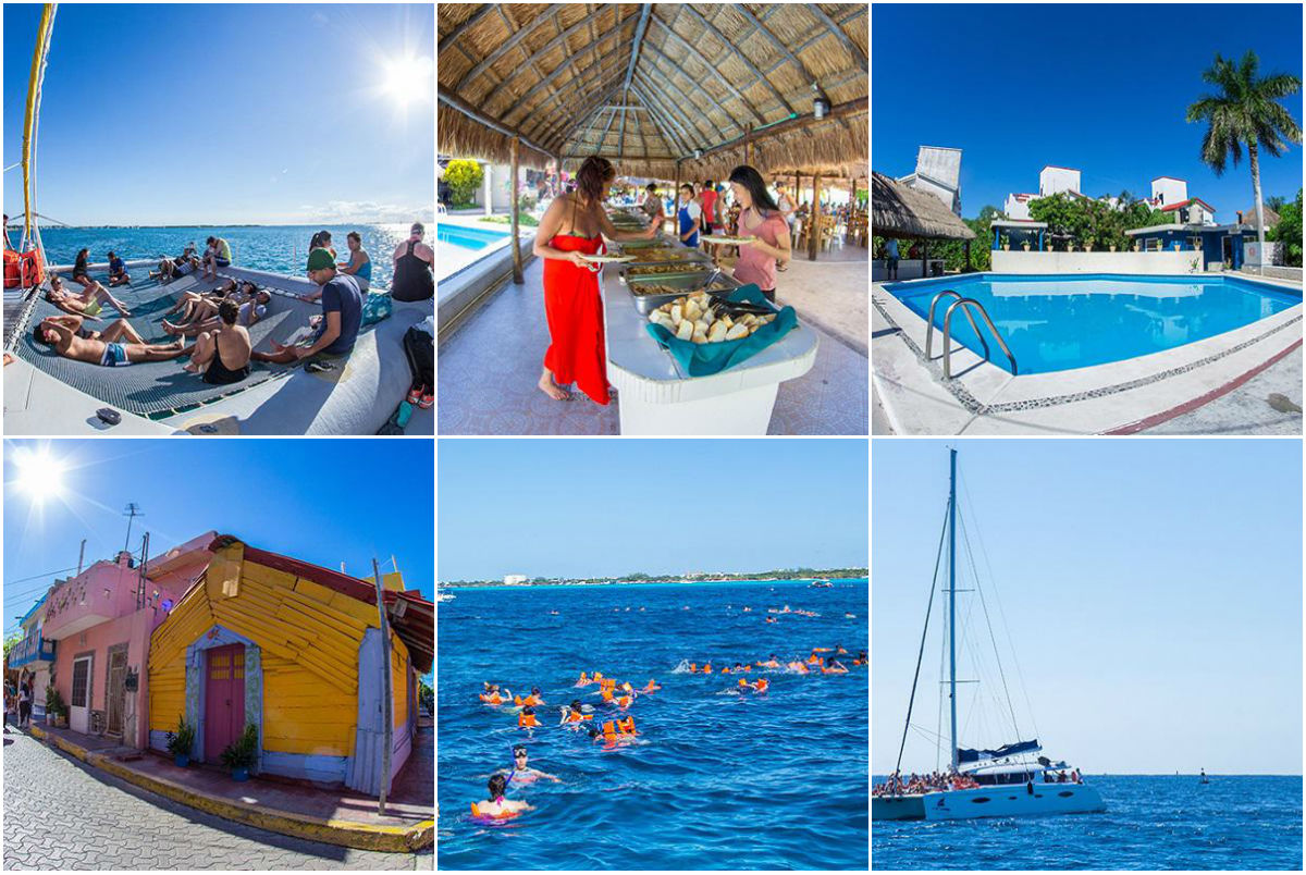 Mexico Destinos Catamaran a Isla Mujeres