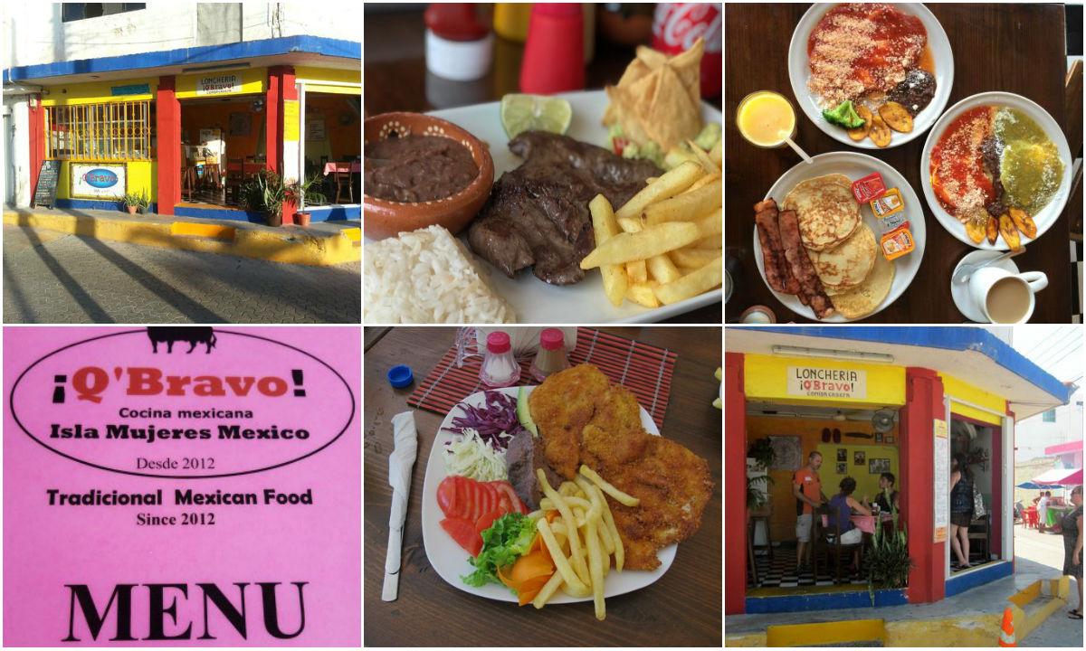Q Bravo Restaurante en Isla Mujeres