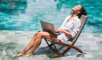 Cómo ser un nómada digital en las playas de México trabajando online incluso con Olymp trade